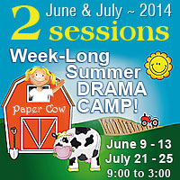 Week-long Drama Camp!