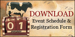 CLICK to download an event schedule and registration form!